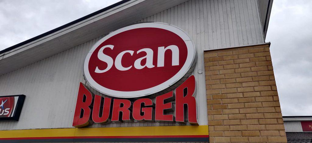 Safcafe scan burger
